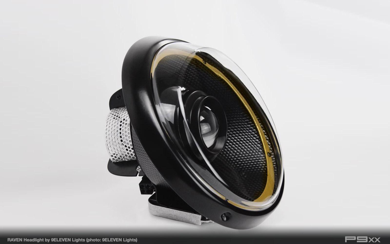 9Eleven Headlights Raven LED Headlight