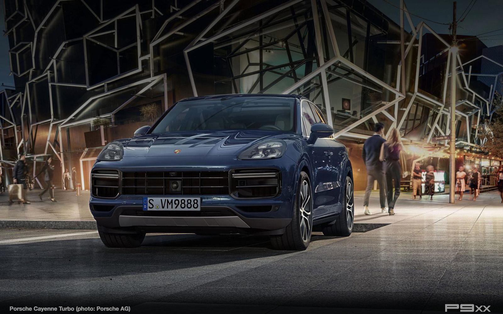 In Detail New Porsche Cayenne Turbo P9xx