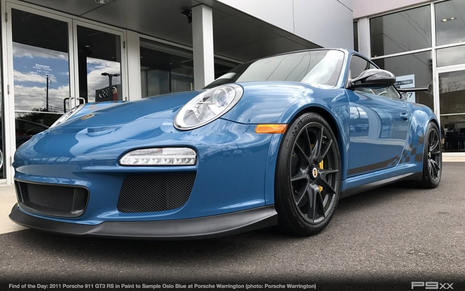 Porsche 959 For Sale >> In Market: Paint to Sample Oslo Blue 2011 Porsche 911 GT3 RS – P9XX