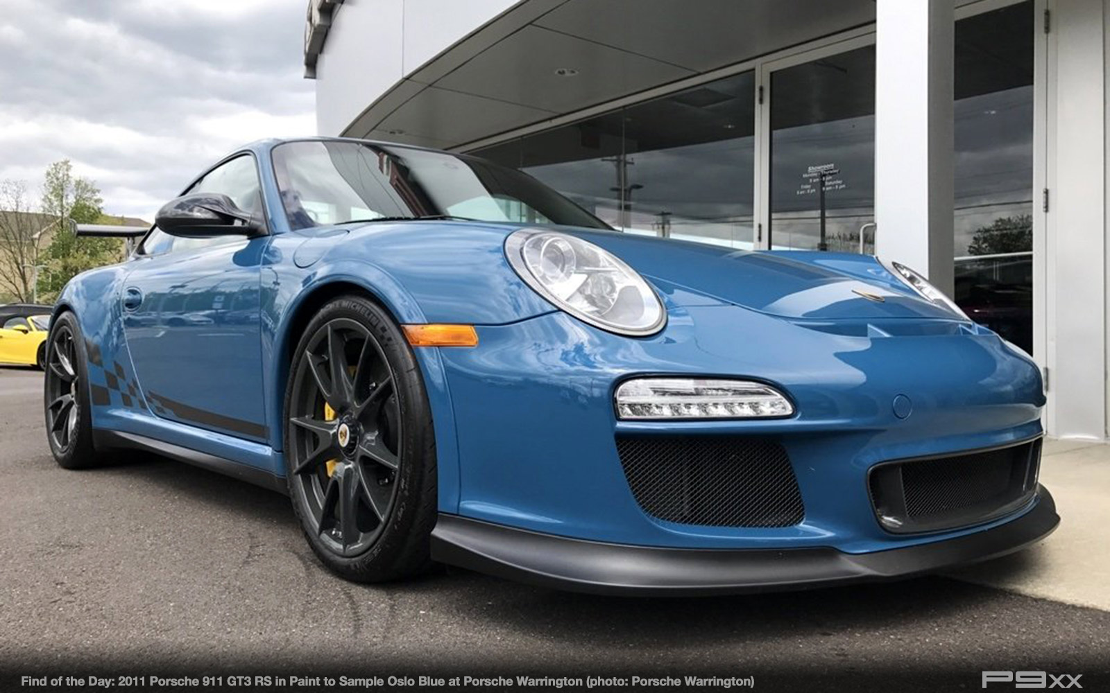 In Market Paint To Sample Oslo Blue 2011 Porsche 911 Gt3 Rs P9xx