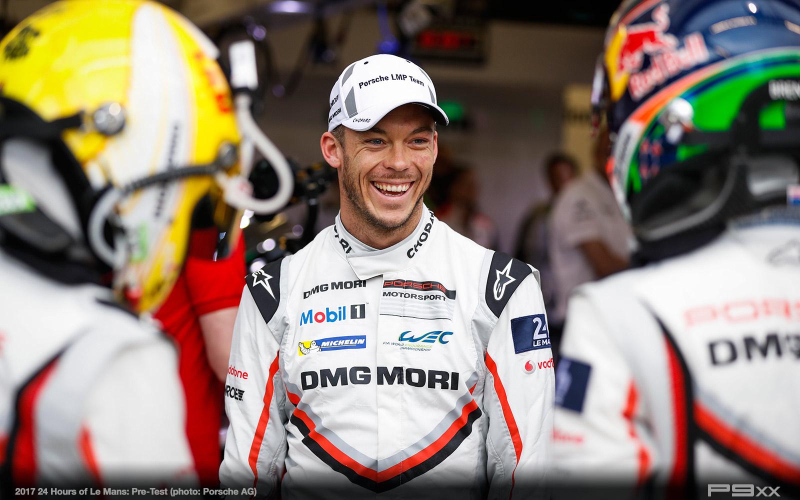 Pre-Test (2017 24h Le Mans)