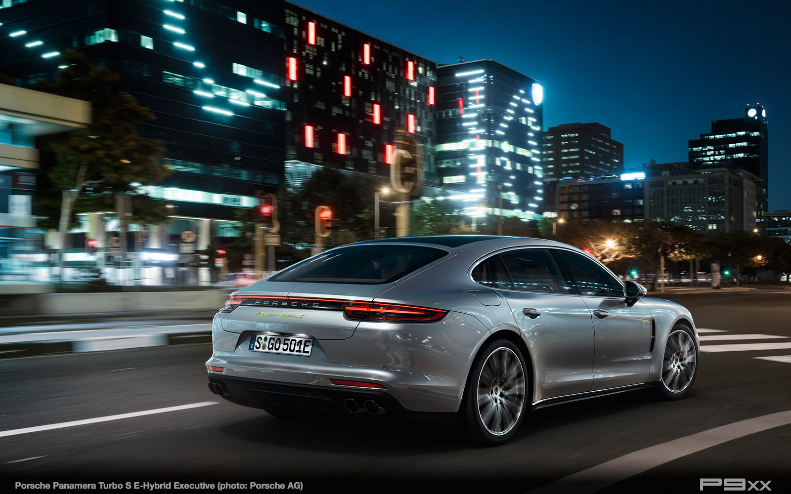 Panamera Turbo S E-Hybrid Executive (EU, 971)