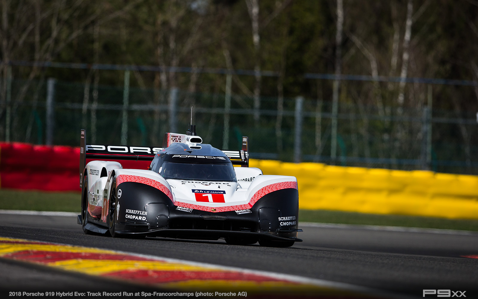porsche 919 evo shatters f1 lap record at spa p9xx. Black Bedroom Furniture Sets. Home Design Ideas