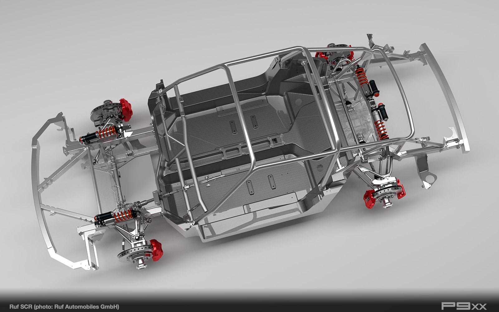 RUF-Monocoque-Chassis