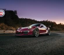 Photos: HRE Wheels R101 Lightweight on Ruby Stone Porsche 911 GT3 RS