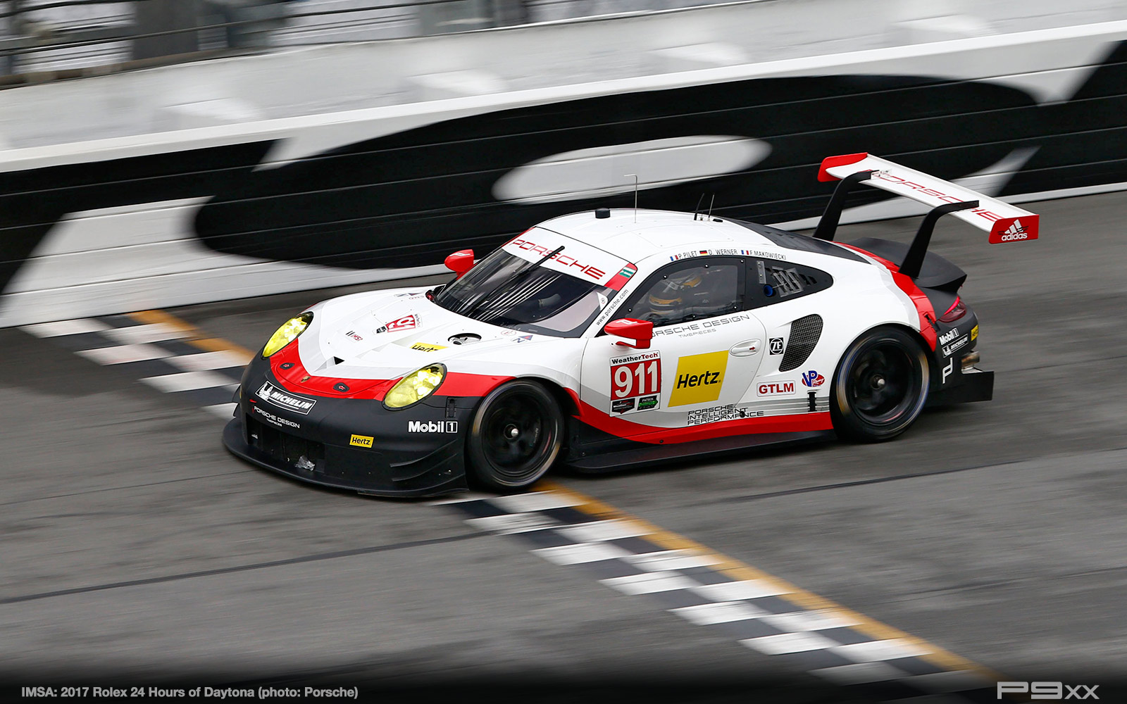 imsa race debut of new 911 rsr at rolex 24 p9xx. Black Bedroom Furniture Sets. Home Design Ideas