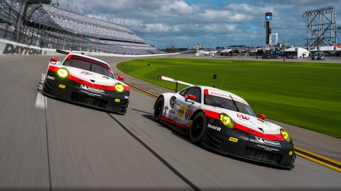 Strong Porsche Contingent for Rolex 24 Weekend