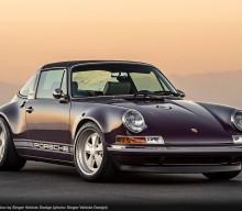 Singer Atherton Is One Incredibly Purple Porsche Targa
