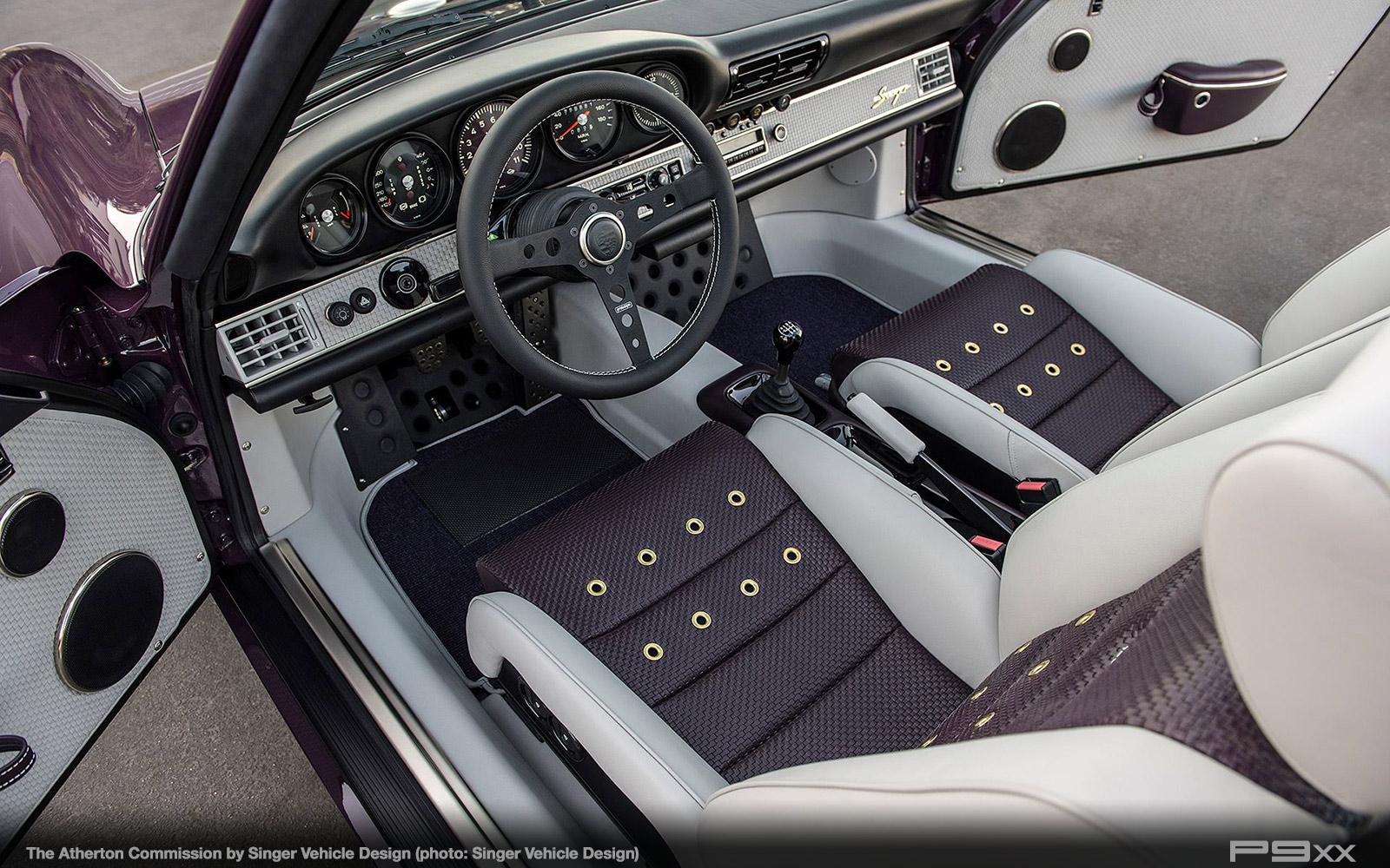 Singer Atherton Is One Incredibly Purple Porsche Targa P9xx