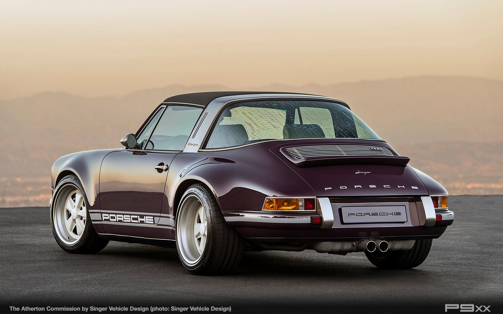 Singer Atherton Is One Incredibly Purple Porsche Targa P9xx