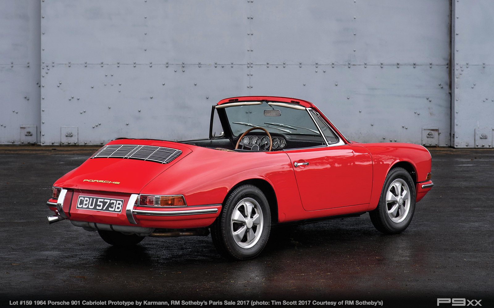Karmann porsche 901 cabriolet prototype headed for parisian sale the prototype was put into storage then sold to a collector in 1967 it later found its way to myron vernis another collector known for his affinity for vanachro Gallery