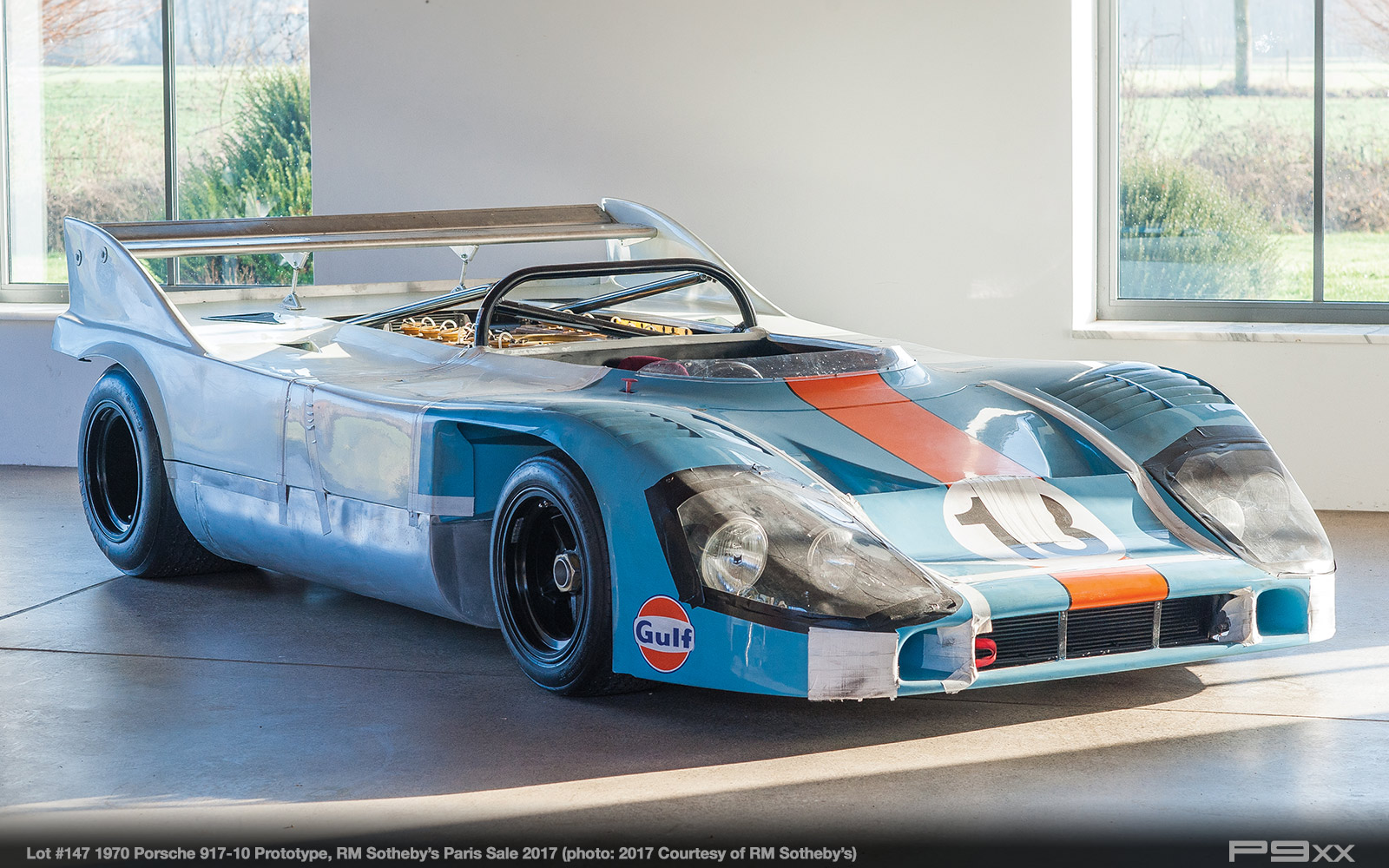 porsche 917  10 prototype planned for rm sotheby u2019s paris sale p9xx 2008 Can-Am Spyder Windshield 2008 Can-Am Spyder Problems