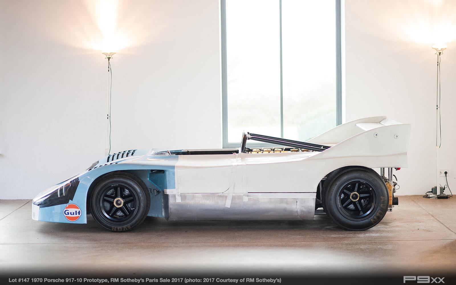 Porsche 917/10 Prototype Planned for RM Sotheby\'s Paris Sale – P9XX