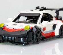 2017 Spec Porsche 911 RSR Already in Lego Form
