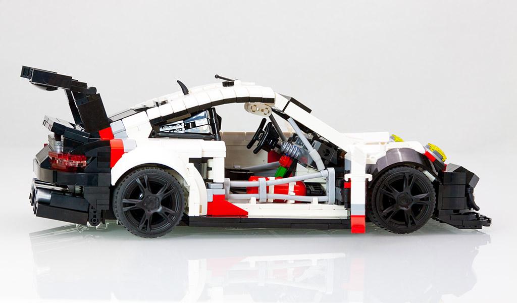 2017 spec porsche 911 rsr already in lego form p9xx. Black Bedroom Furniture Sets. Home Design Ideas
