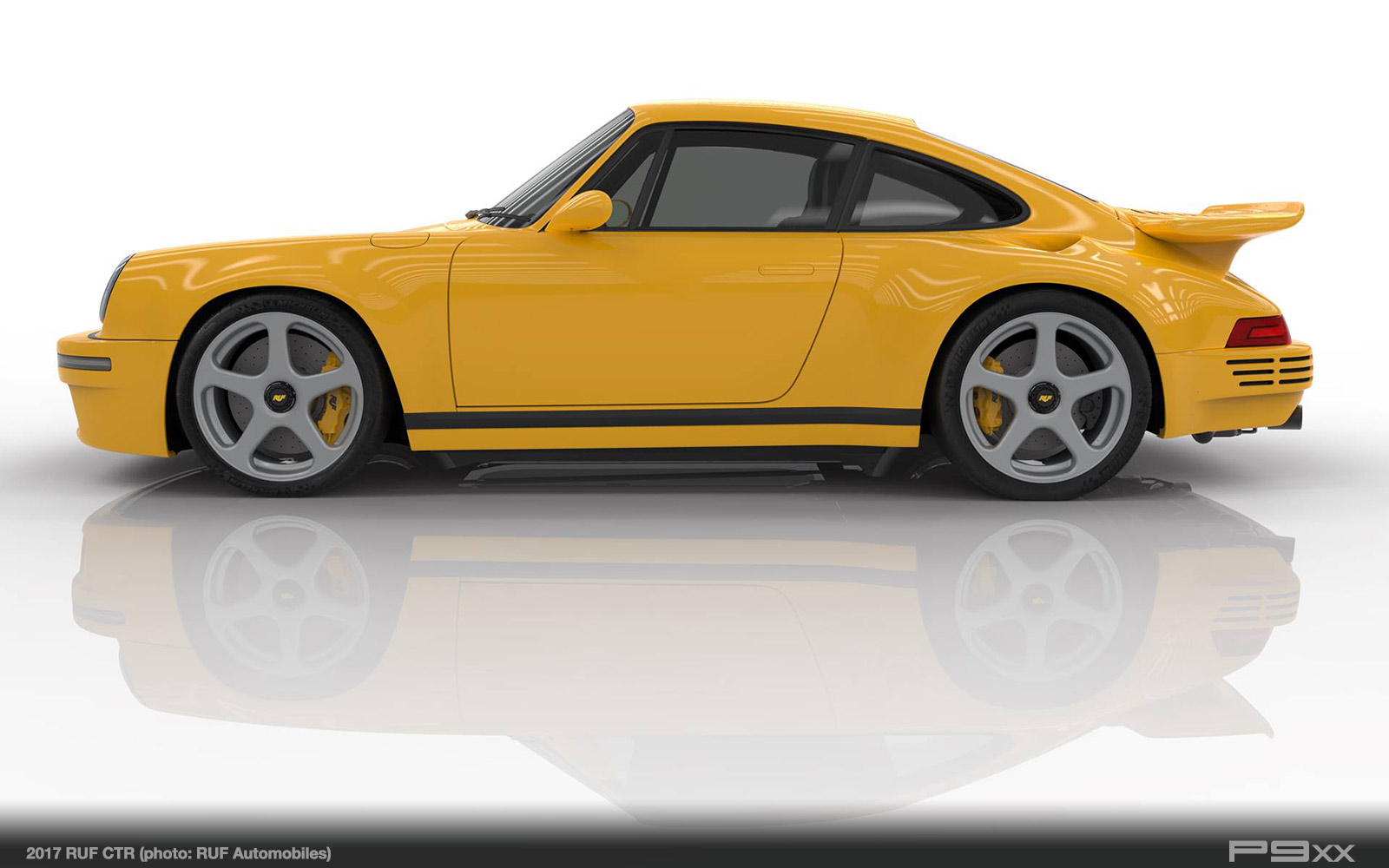 2017 Ruf CTR, World\'s First Rear-Engine Carbon Monocoque Road Car – P9XX