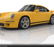 2017 Ruf CTR, World's First Rear-Engine Carbon Monocoque Road Car