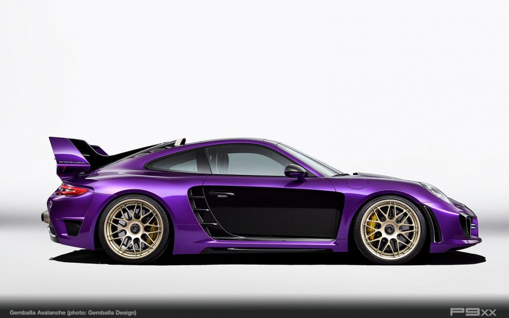 Gemballa Avalanche, a Highly Individualized Porsche 911 – P9XX