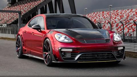 Mansory Refines New Porsche Panamera