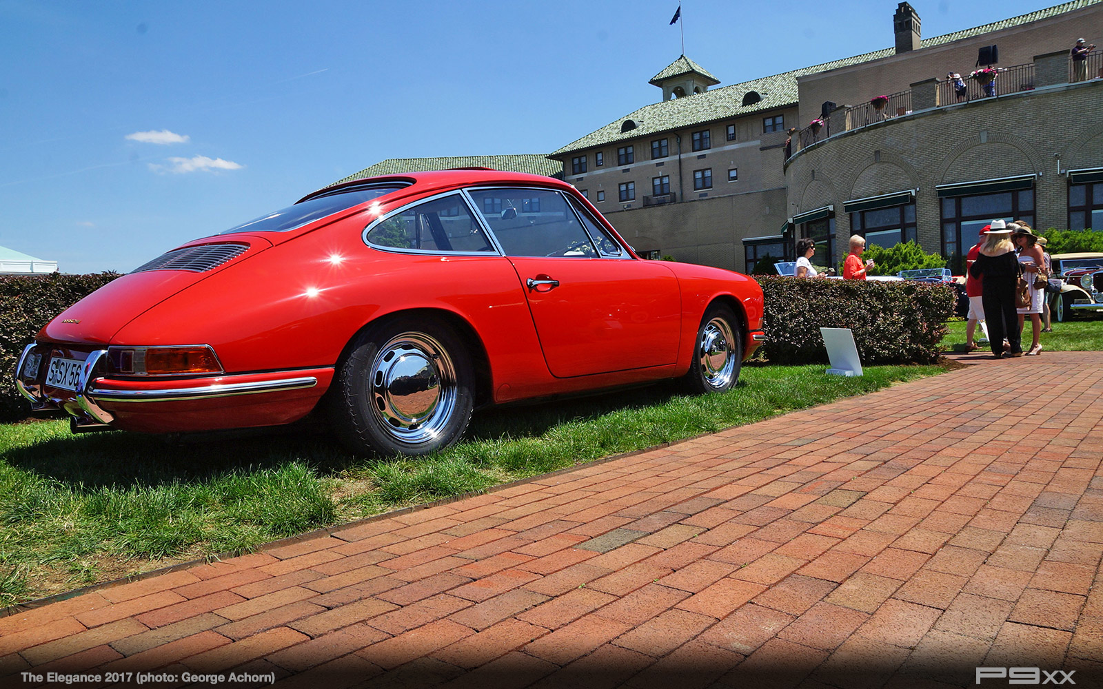 Event report porsche at the elegance 2017 p9xx when it comes to 911 lore you dont get much more original than this 1963 porsche 901 prototype owned by don and diane meluzio of york pennsylvania vanachro Gallery