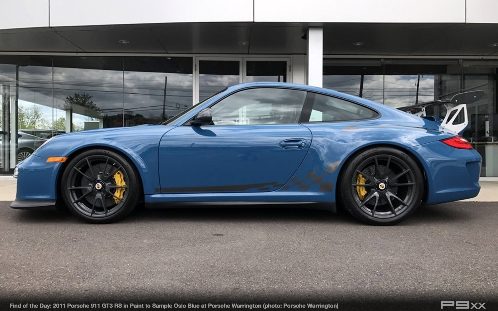 In Market Paint To Sample Oslo Blue 2011 Porsche 911 Gt3