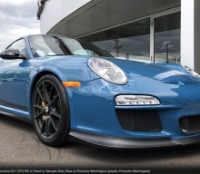 In Market: Paint to Sample Oslo Blue 2011 Porsche 911 GT3 RS