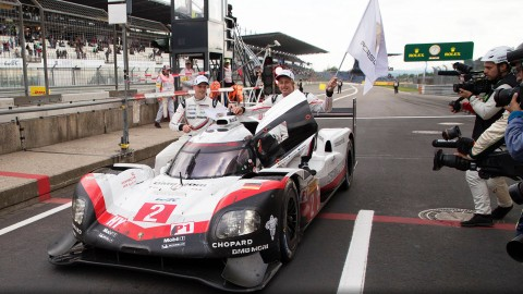 Porsche 919 Celebrates 1-2 at Nürburgring