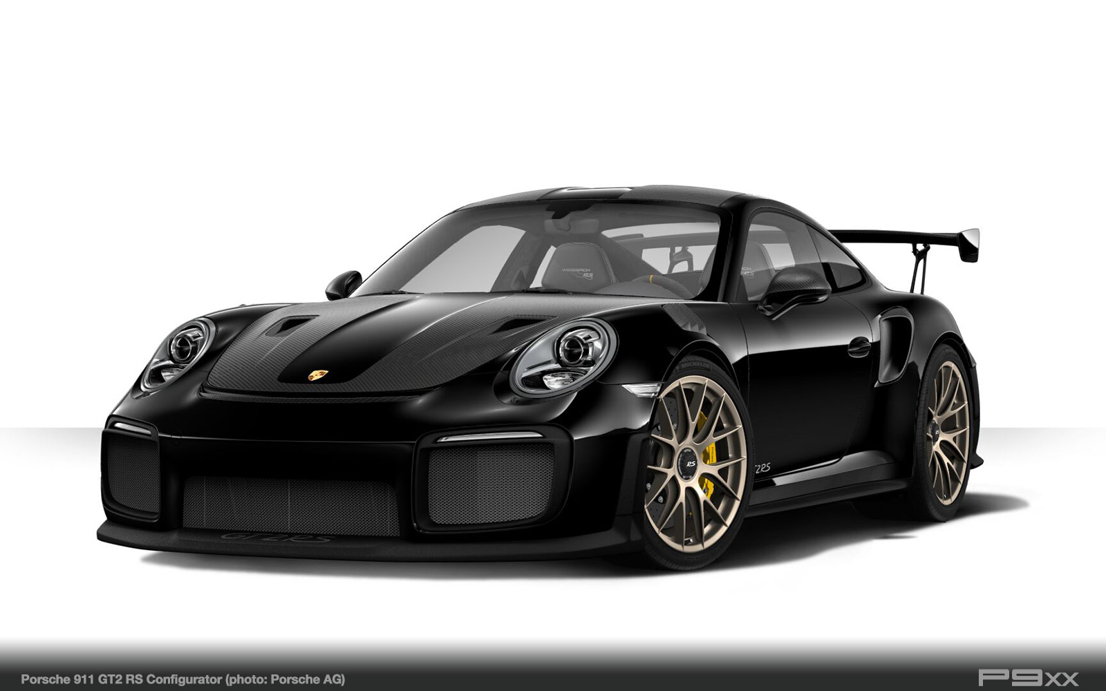 black porsche 911 gt2 rs 9912 338 p9xx. Black Bedroom Furniture Sets. Home Design Ideas