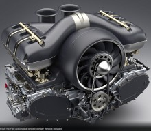 Singer Collaborates with Williams and Mezger for 500hp N/A Flat Six