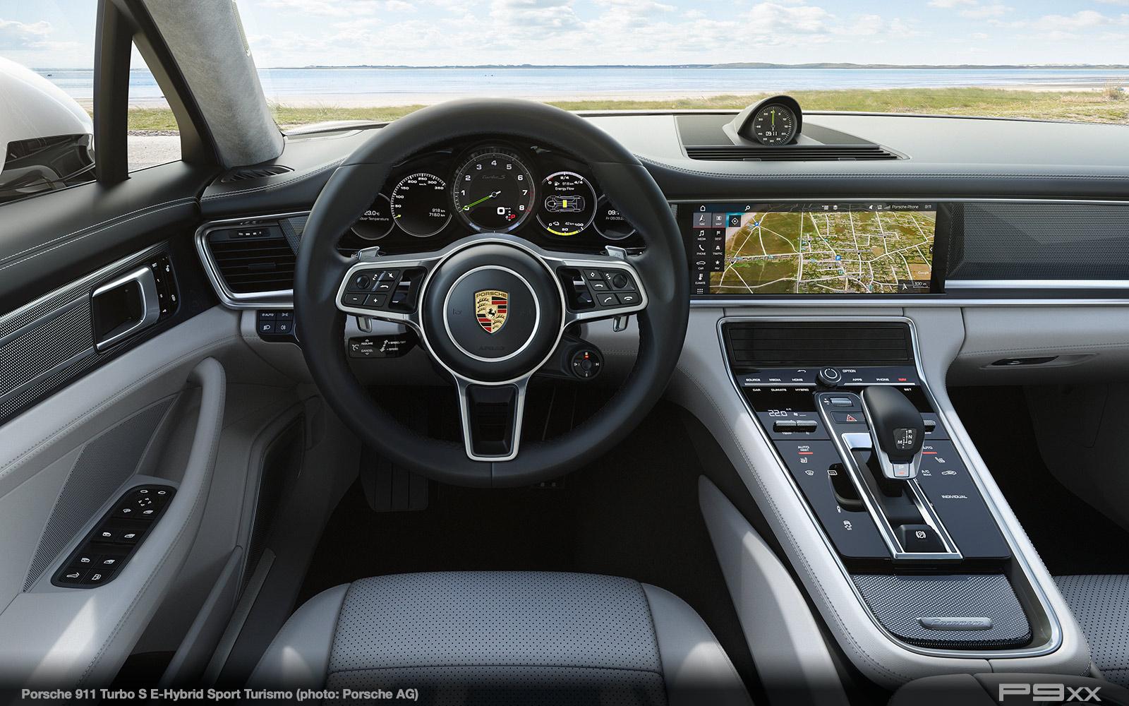 In Detail Panamera Turbo S EHybrid Sport Turismo  P9XX