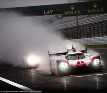 FIA WEC: 919 Clocks Best Time at Rainy Fuji