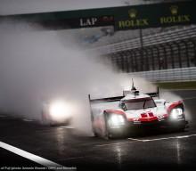 FIA WEC: 919 Clocks Best Time at Rainy Fuji