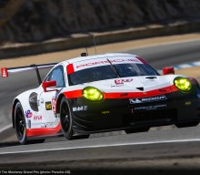IMSA: 911 RSR on 3rd Row at Laguna Seca