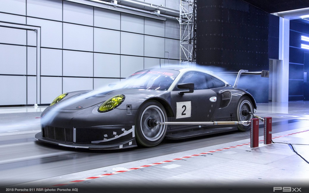 Developing The 2018 911 Rsr P9xx