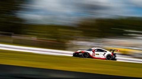 IMSA: Difficult Qualifying for Porsche at Road Atlanta