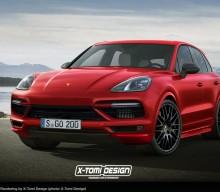 New Porsche Cayenne GTS Rendered