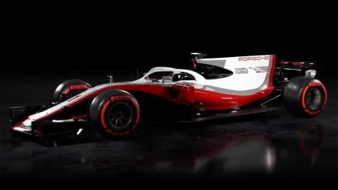 Porsche F1 Rendering by AutoSport