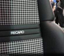 Recaro with New Expert Houndstooth