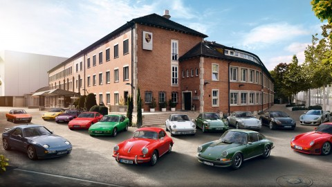 Porsche Classic with New Anti-Theft Protection