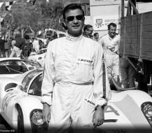 Porsche Congratulates Hans Herrmann