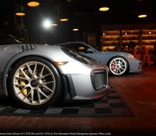 NYIAS: A Porsche GT2 RS in a Biergarten