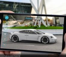 New Porsche Mission E Augmented Reality App