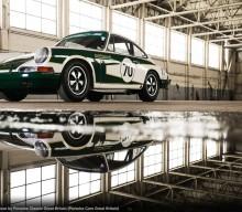 911 Race Car Flies the Flag for Porsche Classic Services