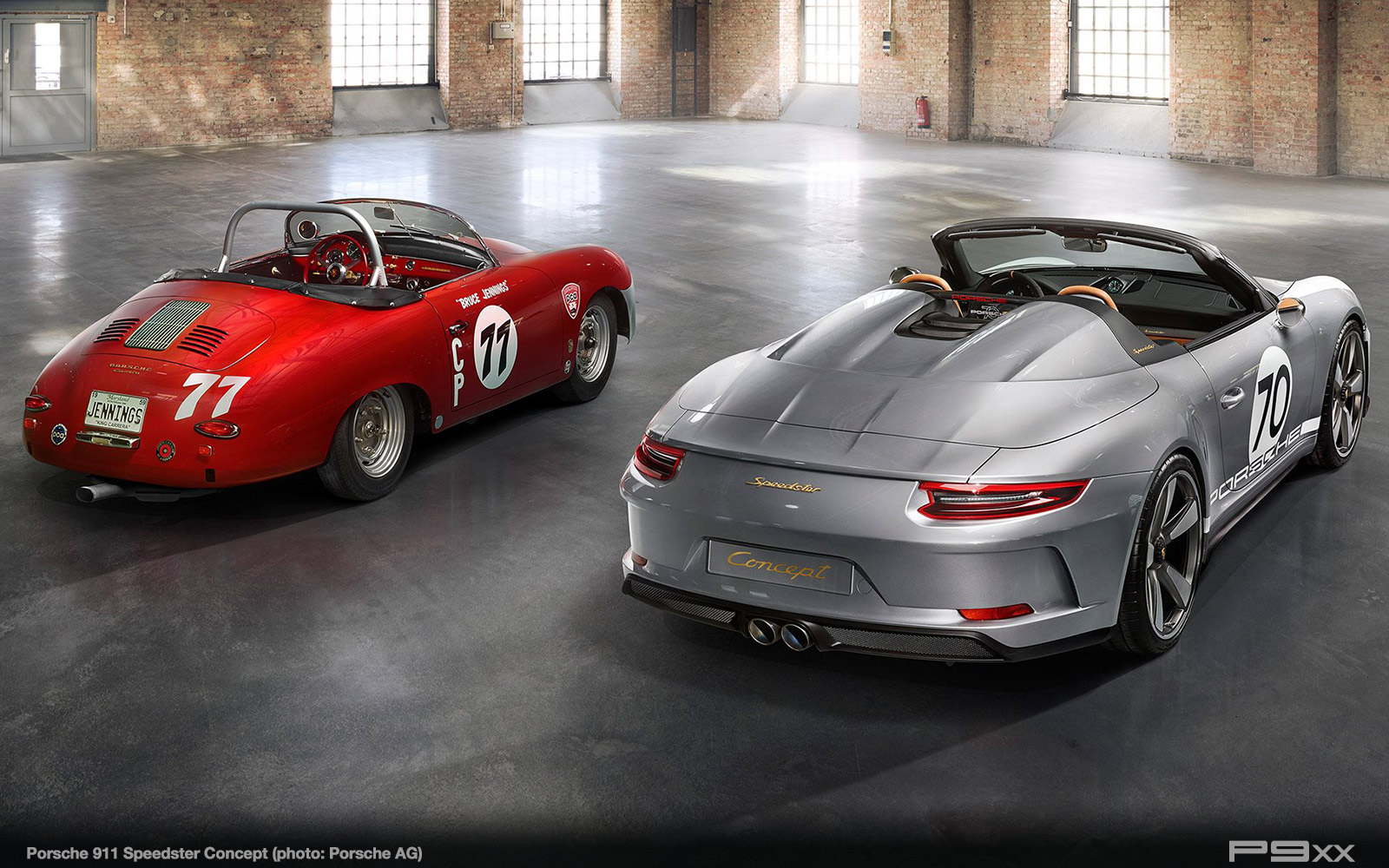 porsche 911 speedster concept with 500hp p9xx. Black Bedroom Furniture Sets. Home Design Ideas