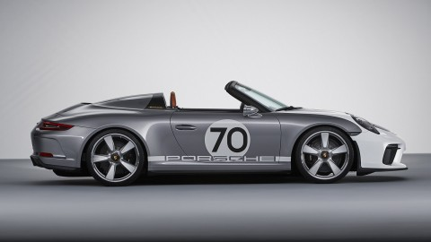 Porsche 911 Speedster Concept with 500hp