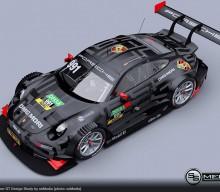 ssMedia Imagines Porsche 911 DTM / Super GT