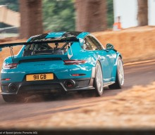 Guide to Goodwood Course by Mark Higgins and Porsche