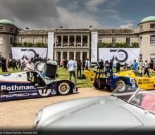 6 x 52 x12 = Porsche + Goodwood Festival of Speed