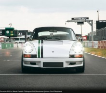 PS 911 Le Mans Classic Clubsport Is Only Car Handover on the Starting Line