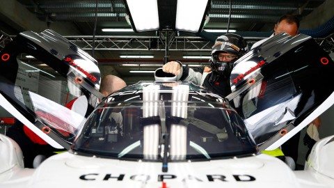 Motor Trend Test Drives Porsche 919 Hybrid Evo